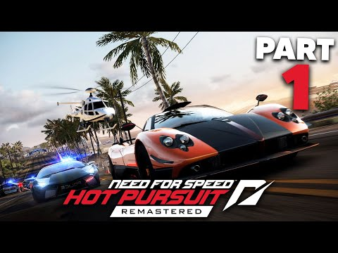 NEED FOR SPEED HOT PURSUIT REMASTERED Gameplay Walkthrough Part 1 - INTRO