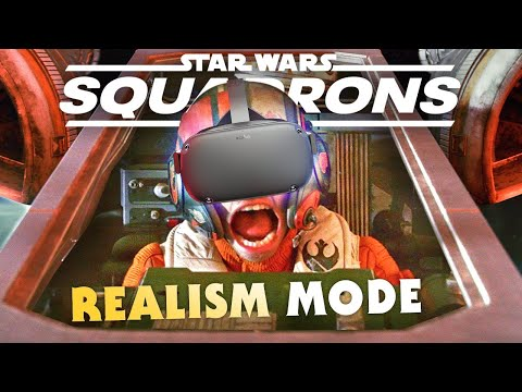 Star Wars Squadrons: VR + HOTAS REALISM MODE Gameplay