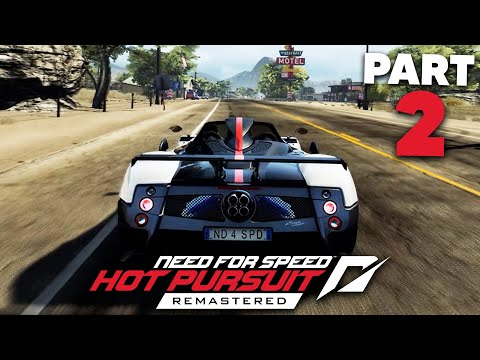 NEED FOR SPEED HOT PURSUIT REMASTERED Gameplay Walkthrough Part 2 - ZONDA
