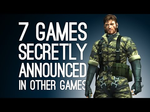 7 Games Secretly Announced in Other Games