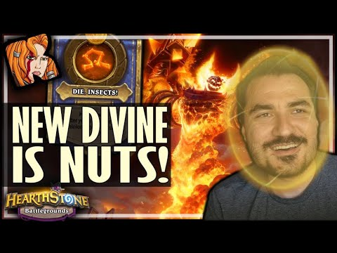 THE NEW DIVINE BUILD IS NUTS! - Hearthstone Battlegrounds