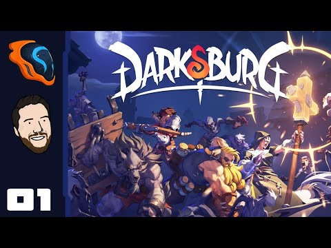 Battle Soup For The Soul! - Let's Play Darksburg [Co-Op With @2 Left Thumbs] - PC Gameplay Part 1