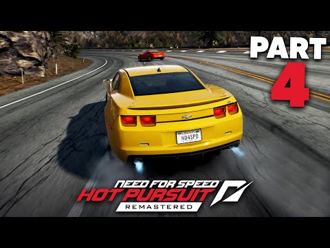 NEED FOR SPEED HOT PURSUIT REMASTERED Gameplay Walkthrough Part 4 - I BROKE THE GAME