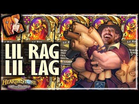 SIX LIL RAGNAROS RENO?! - Hearthstone Battlegrounds