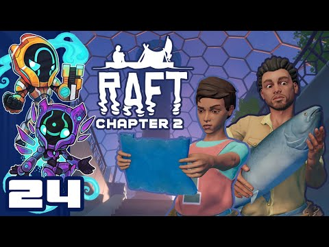 Paradise For A Price - Let's Play Raft [Chapter 2 | Co-Op] - PC Gameplay Part 24