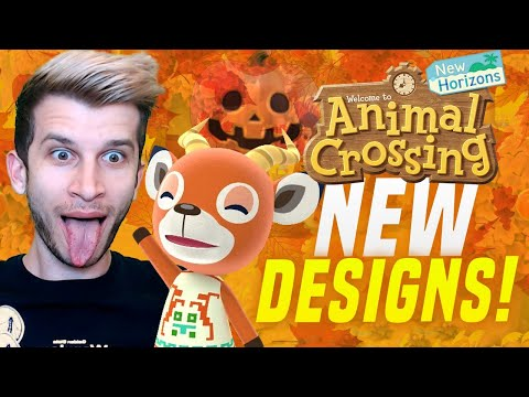 NEW FALL DESIGNS?! Animal Crossing New Horizons NEW 1.5 Update! ACNH Tips and Tricks!