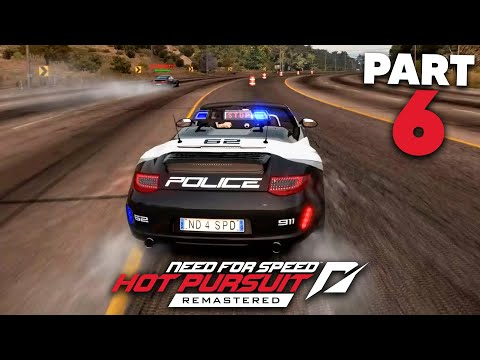 NEED FOR SPEED HOT PURSUIT REMASTERED Gameplay Walkthrough Part 6 - MARKED MAN