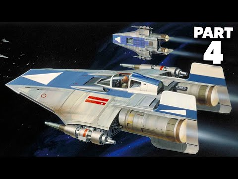 STAR WARS SQUADRONS Gameplay Walkthrough Part 4 - A-WING (Full Game)