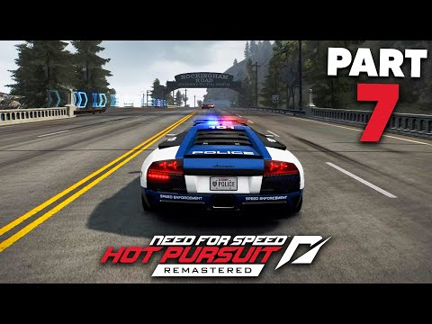 NEED FOR SPEED HOT PURSUIT REMASTERED Gameplay Walkthrough Part 7 - NEW LAMBORGHINI LIVERY