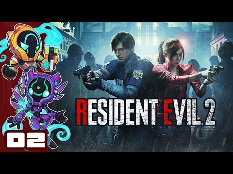 These Zombies Are Pure Sponge - Let's Play Resident Evil 2 [Leon Route A] - PC Gameplay Part 2
