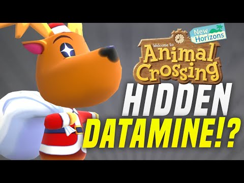 HIDDEN New Features COMING to Animal Crossing New Horizons!? (Switch Datamine)