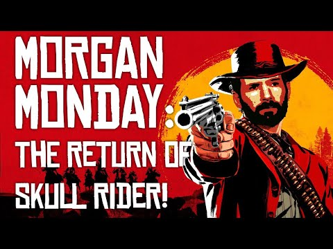 Red Dead Redemption 2 MORGAN MONDAY: SKULL RIDER RETURNS! (Let's Play RDR2 Ep. 12)