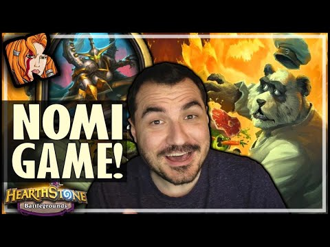 NOW THAT'S A NOMI GAME! - Hearthstone Battlegrounds