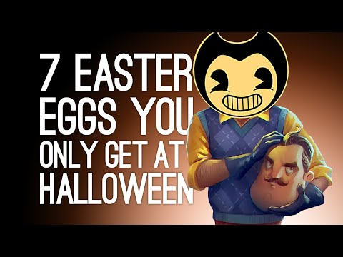 7 Spooky Easter Eggs you can Only Find on Halloween