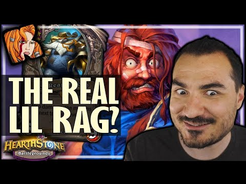 GEORGE IS THE REAL LIL' RAG! - Hearthstone Battlegrounds