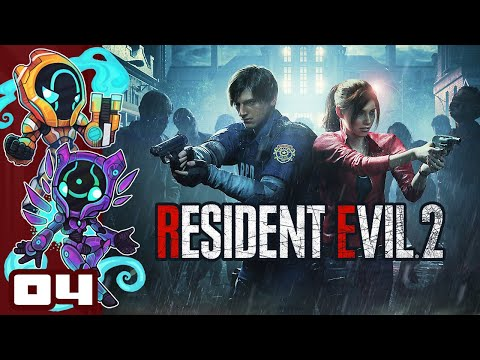 Please Do Not Lick The Leon - Let's Play Resident Evil 2 [Leon Route A] - PC Gameplay Part 4