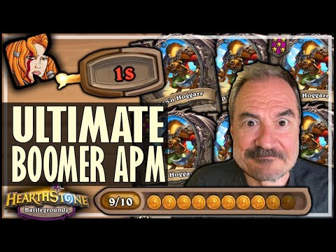 I JUST MAXED OUT MY APM! - Hearthstone Battlegrounds