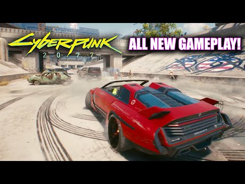 Cyberpunk 2077 - All New Gameplay Vehicle Customization (PS5, Xbox Series X and PC)