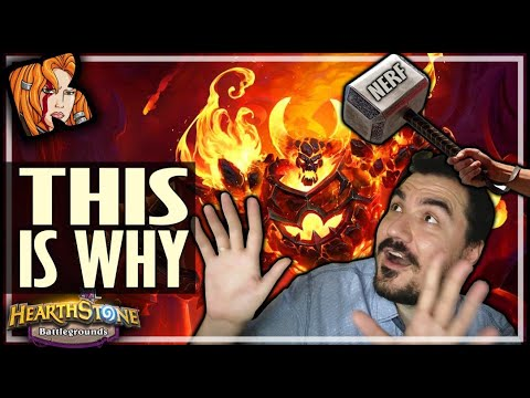 THIS IS WHY THEY NERFED RAG! - Hearthstone Battlegrounds