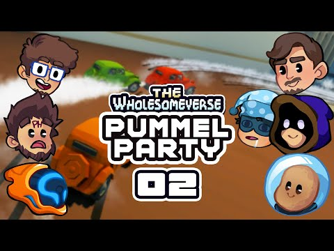 I'm Taking You All Down With Me! - Let's Play Pummel Party [Wholesomeverse Live] - Part 2