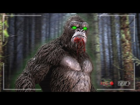 FINDING BIGFOOT GAME! (scary)