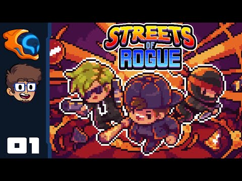 I Am Here To Burgle! - Let's Play Streets of Rogue [Co-op With @Retromation] - PC Gameplay Part 1