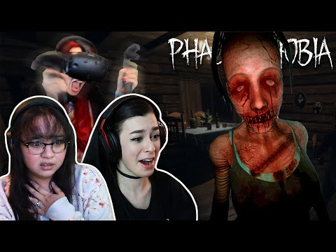 DON'T SWEAR AT THE GHOSTS... | Phasmophobia with @8 Bites and @AGirlAndAGame