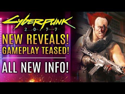 Cyberpunk 2077 - BIG NEWS UPDATE! New Gameplay Trailer Teased, Ozob Reveal, Vehicle Storage!