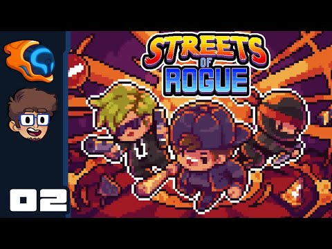 Maximum Ape Escape! - Let's Play Streets of Rogue [Co-op With @Retromation] - PC Gameplay Part 2