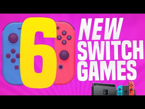6 NEW SWITCH GAMES + 1 MAJOR Delay! (Nintendo Switch eShop Games Just Announced)