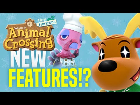 Will WINTER UPDATE Have These New Features!? (Animal Crossing New Horizons 1.6 Predictions)