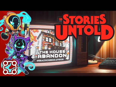 Never Enter The Mirror Realm - Let's Play Stories Untold: The House Abandon - PC Gameplay Part 1