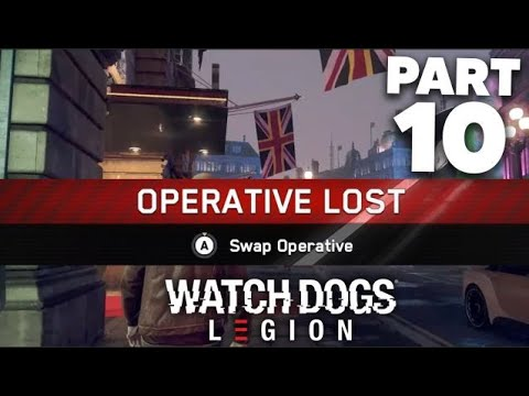 WATCH DOGS LEGION Gameplay Walkthrough Part 10 - PERMADEATH & SKY LARSEN (Full Game)
