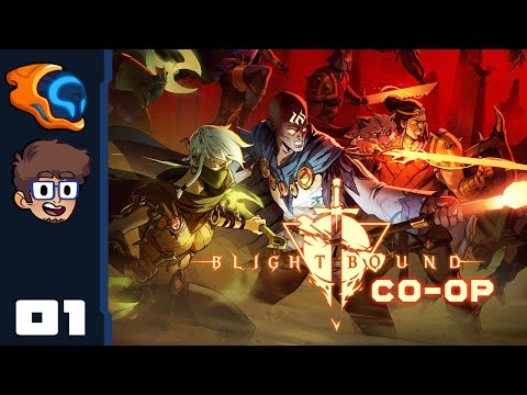 Bite Sized Dungeon Crawler! - Let's Play Blightbound [Co-Op | @Retromation ] - PC Gameplay Part 1