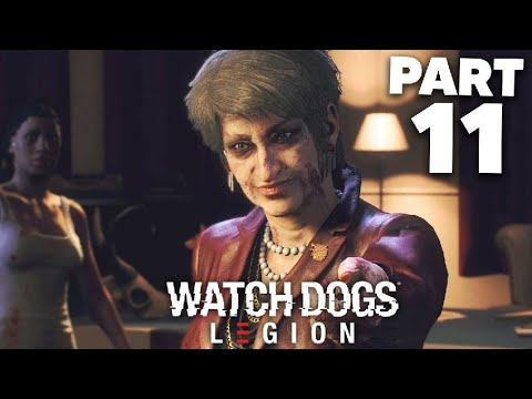 WATCH DOGS LEGION Gameplay Walkthrough Part 11 - MARY KELLEY BOSS (Full Game)