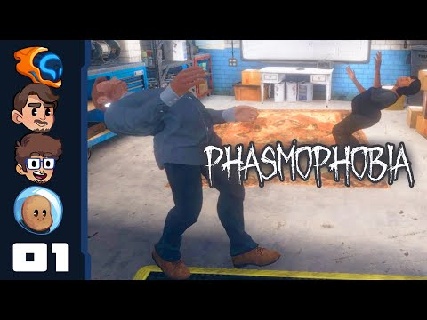 Everything About This Game Is Cursed - Let's Play Phasmophobia [Co-Op] - PC Gameplay Part 1