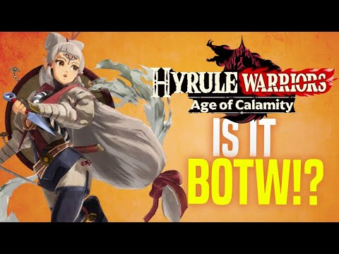 Did BOTW Fix Hyrule Warriors!? (Age of Calamity Demo Gameplay)