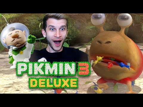 I LOVE THIS GAME!  Pikmin 3 Deluxe Nintendo Switch Gameplay Stream!
