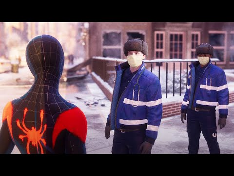 Marvel's Spider-Man Miles Morales PS5 Gameplay - Spider-Verse Suit