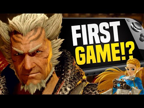 Is Monster Hunter Rise FIRST Nintendo Switch Pro Game!?