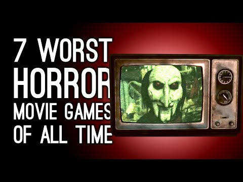 7 Worst Horror Movie Games of All Time