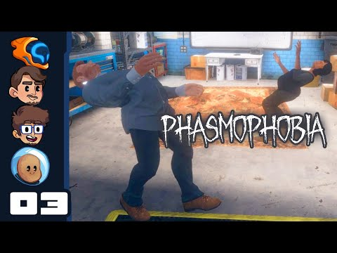 The Crucifix, It Does Nothing! - Let's Play Phasmophobia [Co-Op] - PC Gameplay Part 3