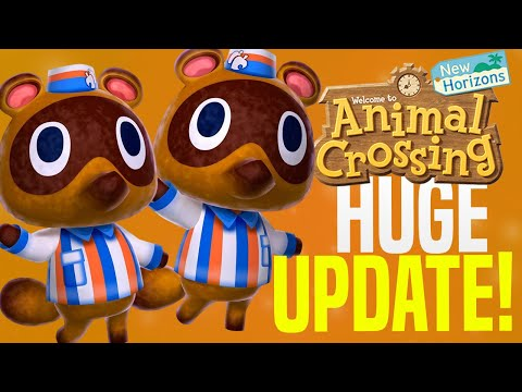 Animal Crossing November Update - ALL New Features, Events, Villagers, Creatures! (ACNH Update Tips)