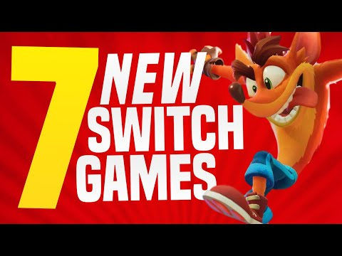 7 NEW Nintendo Switch Games JUST ANNOUNCED Coming to Nintendo eShop! (Switch Release Update)