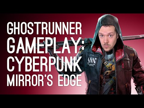 Ghostrunner Gameplay Stream! CYBERPUNK MIRROR'S EDGE (Let's Play Ghostrunner on Xbox One)