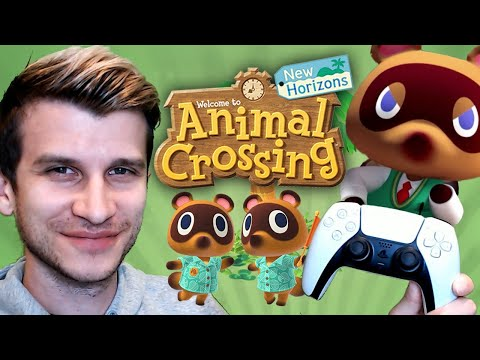 Playing Animal Crossing On PS5 Controller!? (Nintendo Switch Dual Sense How To Guide - New Horizons)