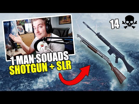 PUBG XBOX / PS4 high-kill SOLO SQUAD game - Shotgun is OP