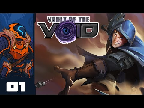 If You Like Deckbuilder Roguelites, Check This Out! - Let's Play Vault of the Void - Part 1