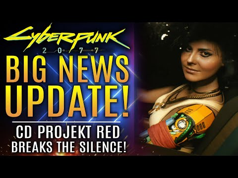 Cyberpunk 2077 - Big News Update! CD Projekt RED Breaks Their Silence! PS5 and Xbox Series X Details