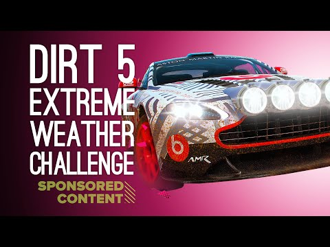 Dirt 5 4K Gameplay: EXTREME WEATHER CHALLENGE - Let's Play Dirt 5 on Xbox (Sponsored Content)